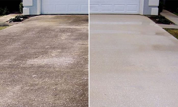pompano beach driveway cleaning
