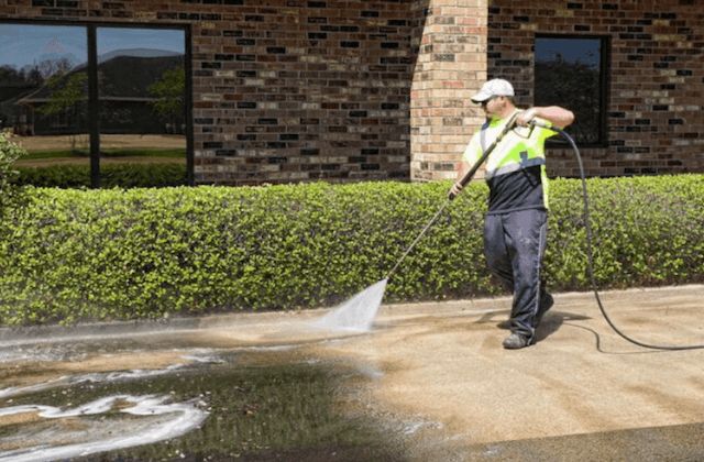 commercial concrete cleaning in pompano beach